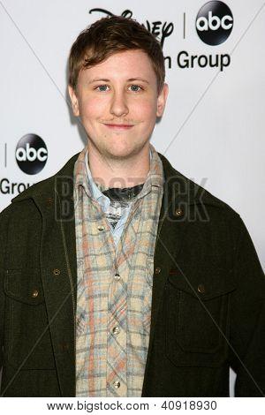 LOS ANGELES - JAN 10:  Johnny Pemberton attends the ABC TCA Winter 2013 Party at Langham Huntington Hotel on January 10, 2013 in Pasadena, CA