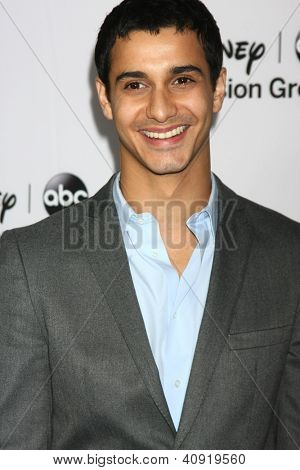 LOS ANGELES - JAN 10:  Elyes Gabel attends the ABC TCA Winter 2013 Party at Langham Huntington Hotel on January 10, 2013 in Pasadena, CA