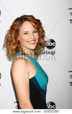 LOS ANGELES - JAN 10:  Katie Leclerc attends the ABC TCA Winter 2013 Party at Langham Huntington Hotel on January 10, 2013 in Pasadena, CA