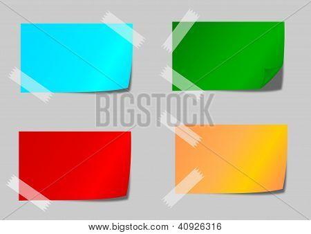 Cinta Adhesiva de Colores Colores Con Cinta Adhesiva