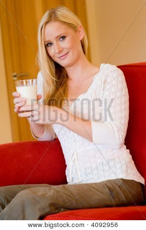 Woman With Milk