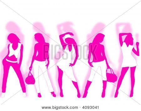 Постер, плакат: Мода, холст на подрамнике