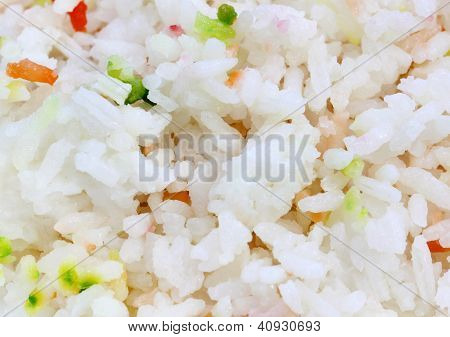 Fresh Pilaf or pilau background