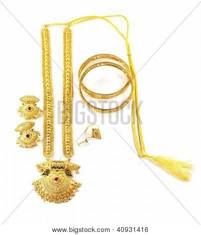 Famous Indian bridal Sita Har or Sita Necklace