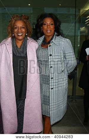 LOS ANGELES - JAN 12:  CCH Pounder, Lorraine Toussaint arrives at the 2013 Film Inependent nominees brunch at BOA Steakhouse on January 12, 2013 in West Hollywood, CA