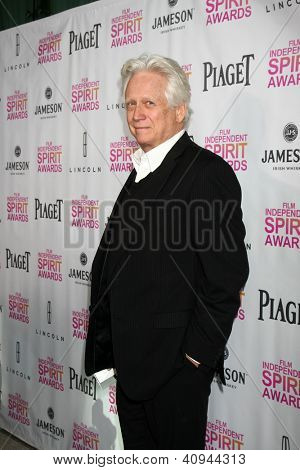 LOS ANGELES - JAN 12:  Bruce Davison arrives at the 2013 Film Inependent nominees brunch at BOA Steakhouse on January 12, 2013 in West Hollywood, CA