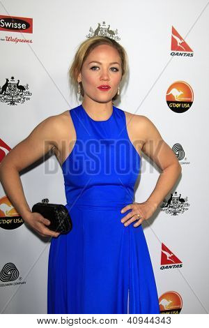 LOS ANGELES - JAN 12:  Erika Christensen arrives at the 2013 G'Day USA Los Angeles Black Tie Gala at JW Marriott on January 12, 2013 in Los Angeles, CA..