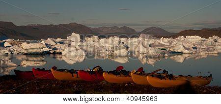 Kayaks and hammocks