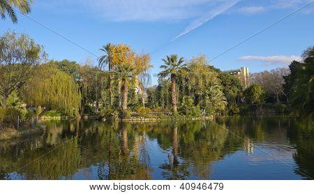 Pond Ciutadella Park