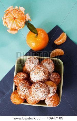 Cake With Mandarin