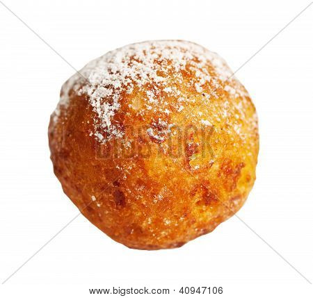 Cheese Balls Isolated