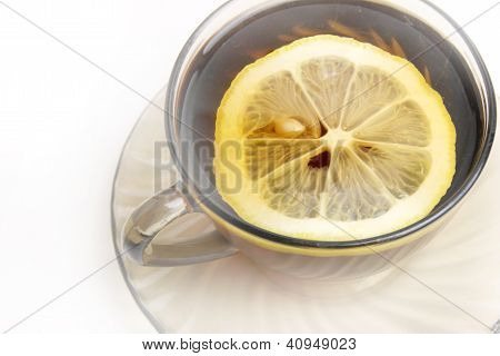 tea and lemon
