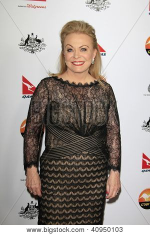 LOS ANGELES - JAN 12: Jacki Weaver at the 2013 G'Day USA Los Angeles Black Tie Gala at JW Marriott on January 12, 2013 in Los Angeles, California