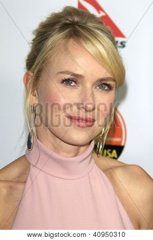LOS ANGELES - 12 de JAN: Naomi Watts em 2013 g ' Day Los Angeles USA Black-Tie Gala no JW Marriott em