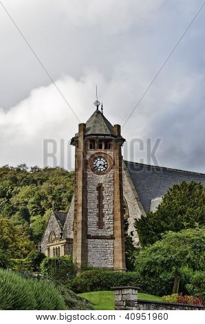 Clock Tower in Grange-Over-Sands