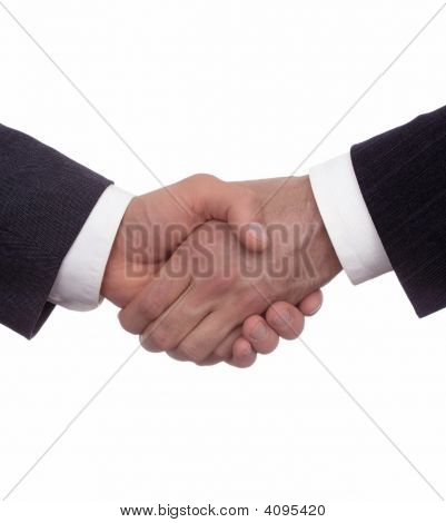 A Business Handshake Corporate Deal