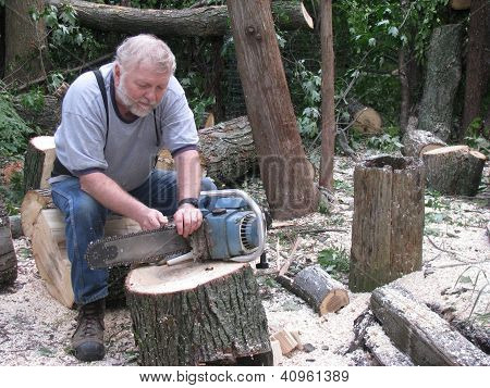 Senior Man and His Old Saw--Time for a New One?