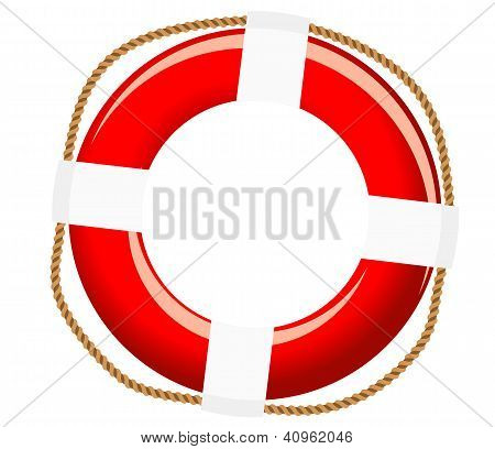 Isolated life buoy
