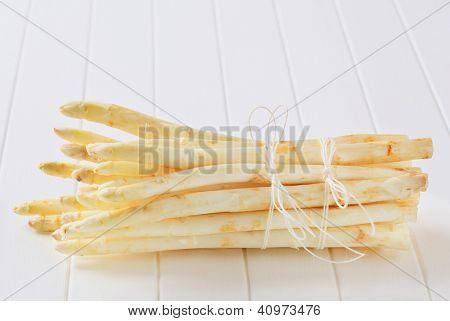 Bunch of bio asparagus
