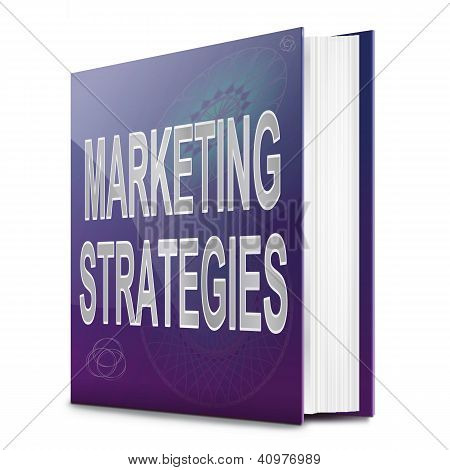 Marketing Strategies Concept.