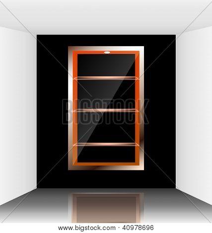 Virtual illuminated show room