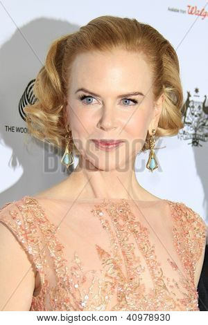 LOS ANGELES - JAN 12: Nicole Kidman at the 2013 G'Day USA Los Angeles Black Tie Gala at JW Marriott on January 12, 2013 in Los Angeles, California