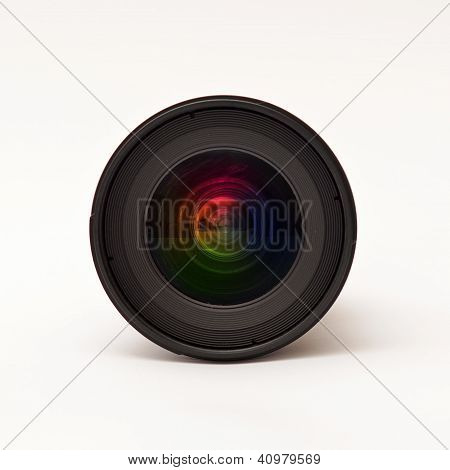 Lente de câmera DSLR