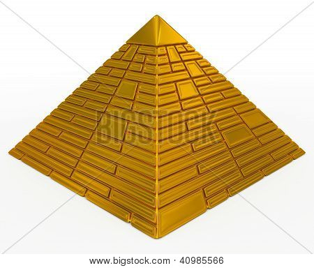pyramid golden