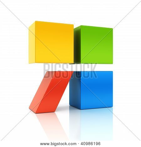Abstract Colored Conceptual Symbol