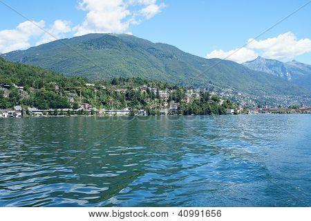 On Lake Maggiore in Switzerland