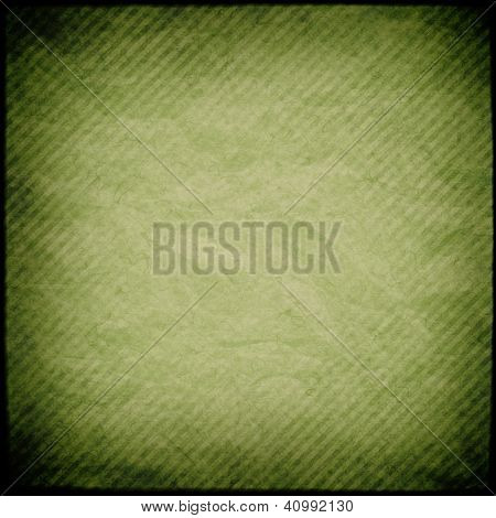 Green grunge striped background or texture
