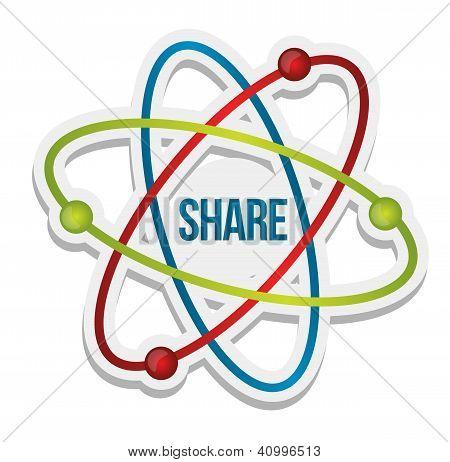 Share Icon Illustration