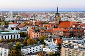Marktkirche and Hannover City, Germany