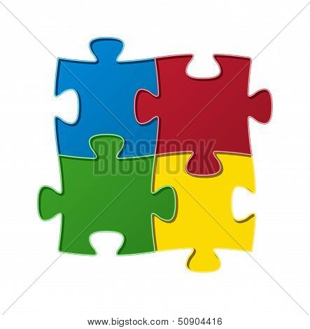 The jigsaw composition