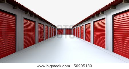 Storage Lockers Perspective
