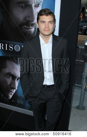LOS ANGELES - SEP 12:  Emile Hirsch at the