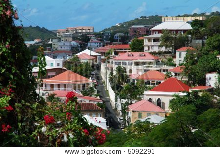 Charlotte Amalie Streets