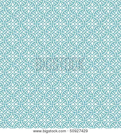 Abstract geometric seamless pattern. Pattern with circle and line.