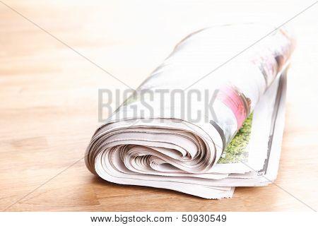 Newspaper Or Press