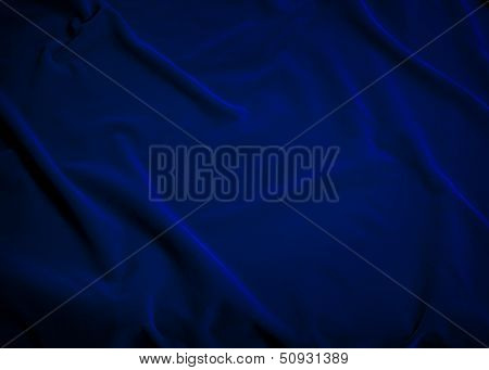 Plush Blue Velvet Fabric