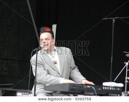 Blues Pianist And Singer Mike Sanchez