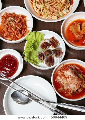 Korean food.