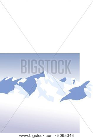 Snow-mountains-background