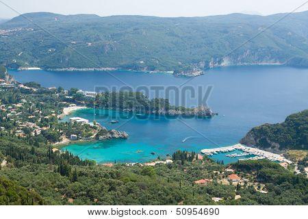 Paleokastritsa bay, Corfu, Greece
