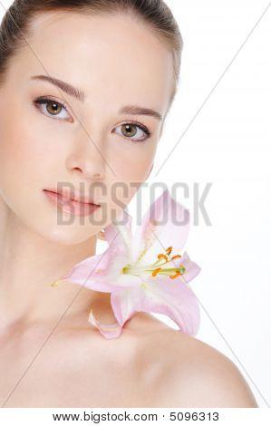 Health Skin Of Beautiful  Woman