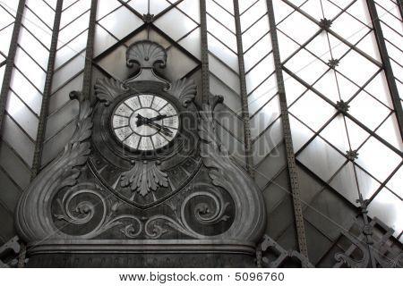 The Clock From Atocha Railway