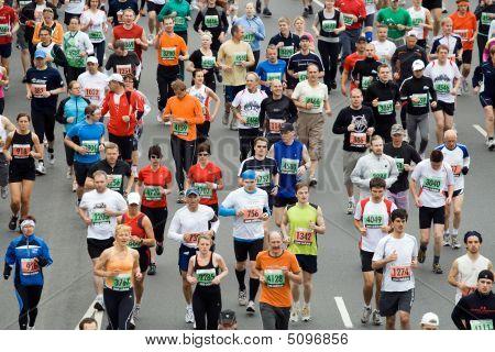Corredores de maratona