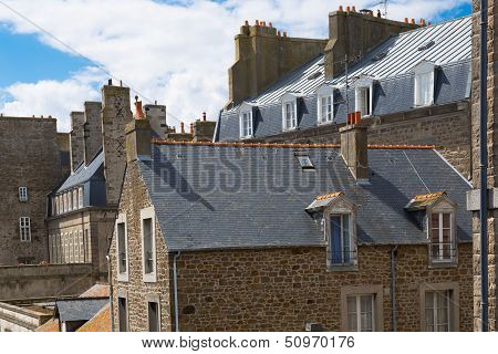 St. Malo In Brittany, France