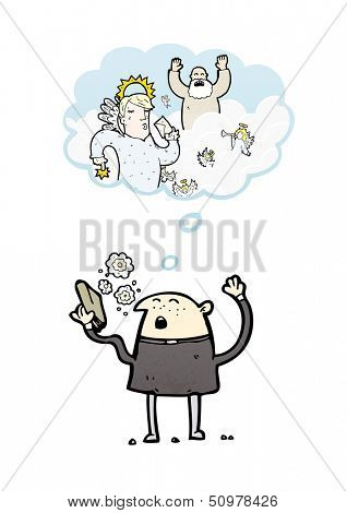 preacher illustration