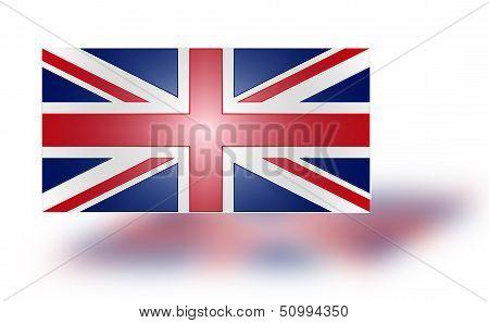 Flag Of The United Kingdom (stylized I).